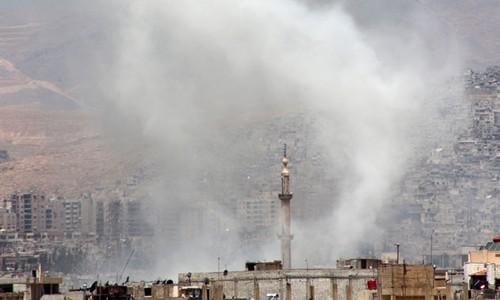 Vụ Đại sứ quán Nga tại Syria bị pháo kích: Bè lũ khủng bố sẽ phải trả giá - anh 1