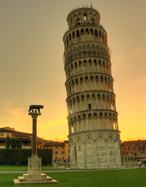 Những khám phá thú vị về độ nghiêng của Tháp Pisa - anh 1