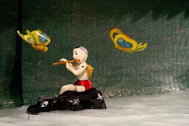 Tự hào nghệ sĩ múa rối nước trổ tài trên đất Mỹ - anh 9