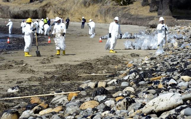 Toàn cảnh vụ tràn 76.000 lít dầu khủng khiếp ở Mỹ [Photos] - anh 4