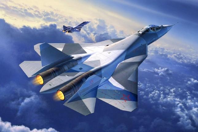 Chiêm ngưỡng sức mạnh Sukhoi T-50: 'Quái vật tàng hình' của Nga - anh 1