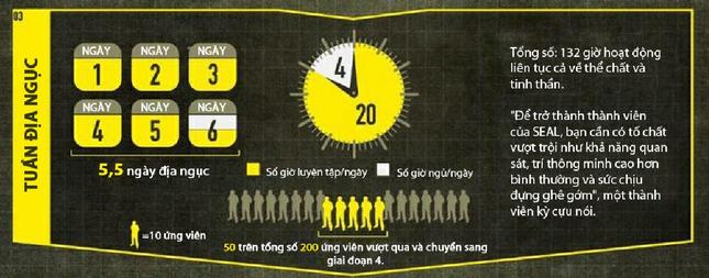 Khóa đào tạo 'địa ngục' của biệt kích quân Mỹ Navy SEALs [Infographics] - anh 8