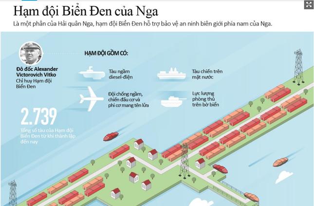 Hạm đội Biển Đen - Lực lượng dũng mãnh bậc nhất thế giới của Nga [Infographics] - anh 2