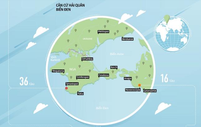 Hạm đội Biển Đen - Lực lượng dũng mãnh bậc nhất thế giới của Nga [Infographics] - anh 5