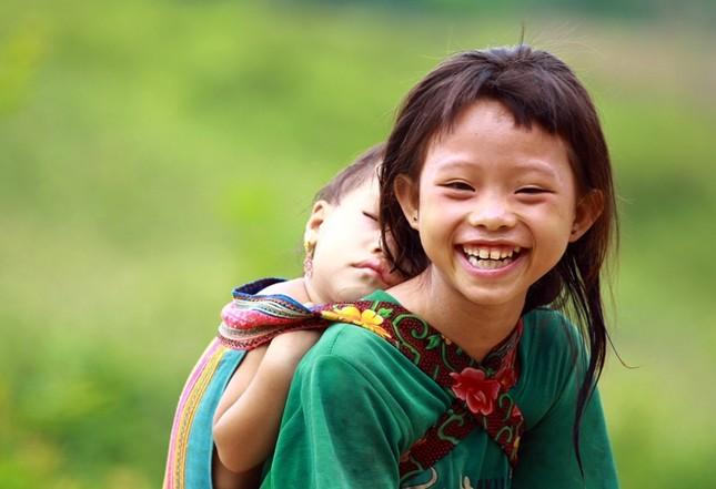 Ấm áp những nụ cười trẻ thơ Việt Nam - anh 4