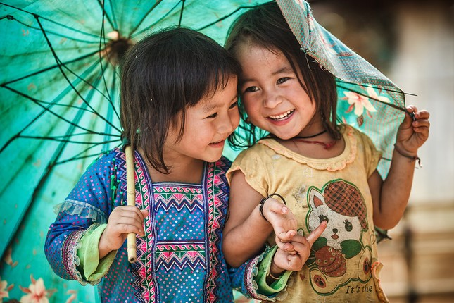 Ấm áp những nụ cười trẻ thơ Việt Nam - anh 14