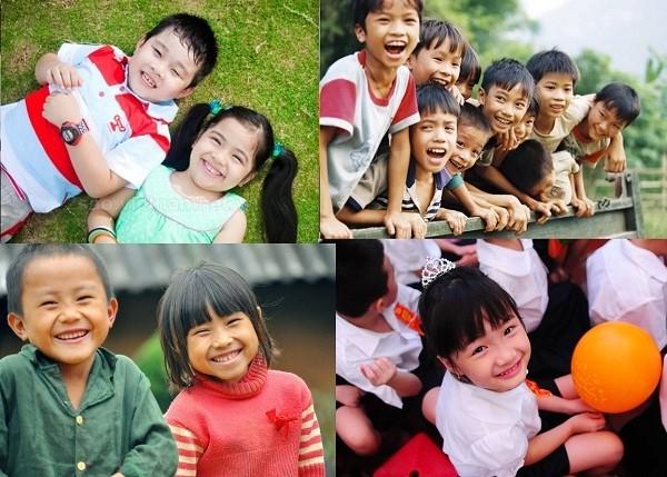 Ấm áp những nụ cười trẻ thơ Việt Nam - anh 17