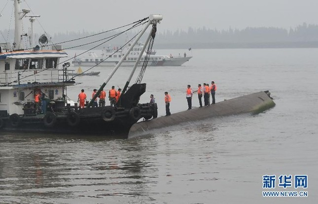 Trung Quốc: Chìm tàu chở 458 người, hàng trăm nạn nhân gào thét - anh 1
