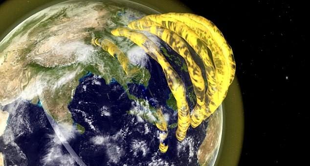 Phát hiện: Ống Plasma khổng lồ bao quanh Trái đất - anh 2
