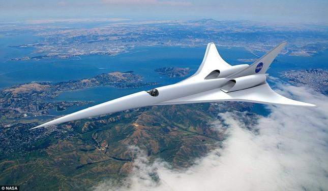 NASA: Chi 'khủng' để hồi sinh máy bay siêu thanh Concorde - anh 2