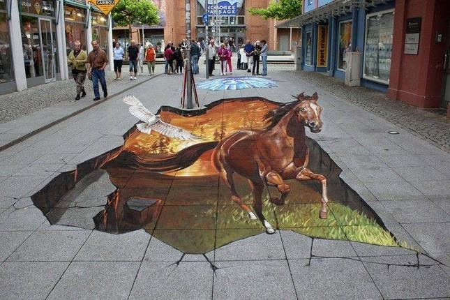 Ngắm những tuyệt phẩm 3D đánh lừa thị giác trên đường phố - anh 4