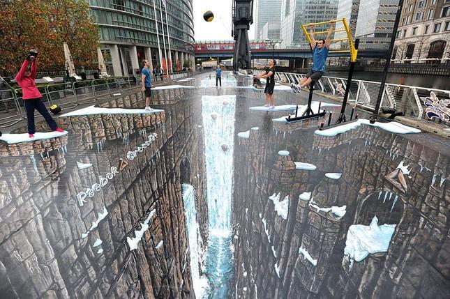 Ngắm những tuyệt phẩm 3D đánh lừa thị giác trên đường phố - anh 2