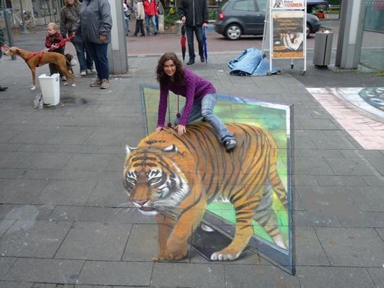 Ngắm những tuyệt phẩm 3D đánh lừa thị giác trên đường phố - anh 15