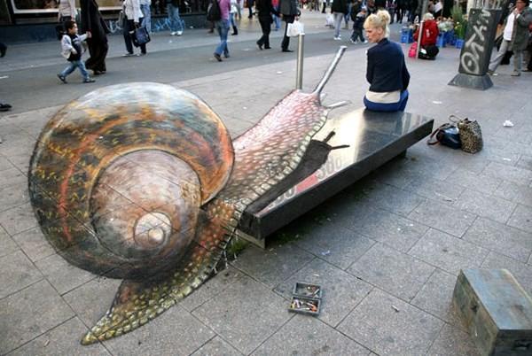 Ngắm những tuyệt phẩm 3D đánh lừa thị giác trên đường phố - anh 5