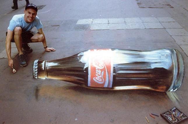 Ngắm những tuyệt phẩm 3D đánh lừa thị giác trên đường phố - anh 8