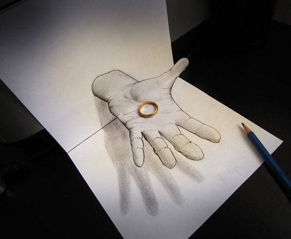 Chân dung những người nổi tiếng vẽ bằng bút chì thật đến khó tin - anh 25