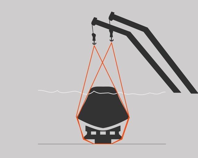 Vụ chìm tàu Trung Quốc: Hết hi vọng cứu người sống, chuyển sang thu gom hàng trăm thi thể còn lại - anh 3