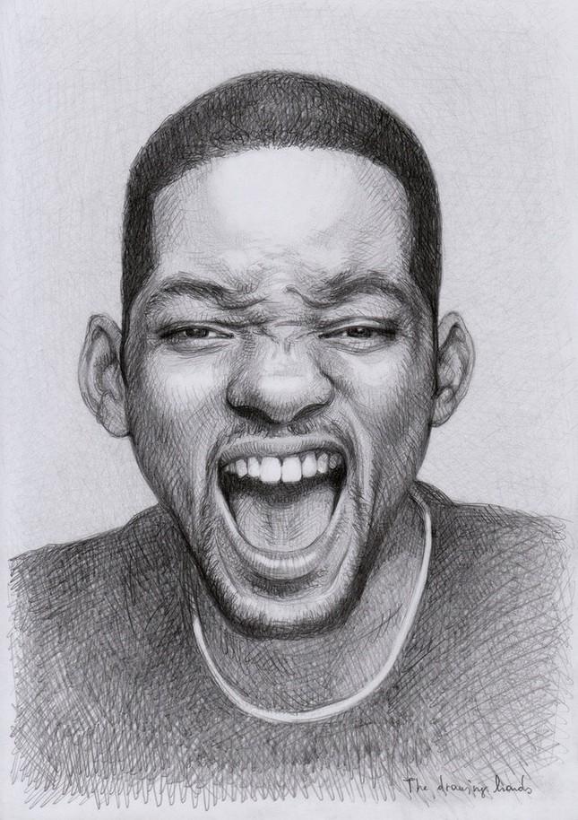 Chân dung những người nổi tiếng vẽ bằng bút chì thật đến khó tin - anh 20