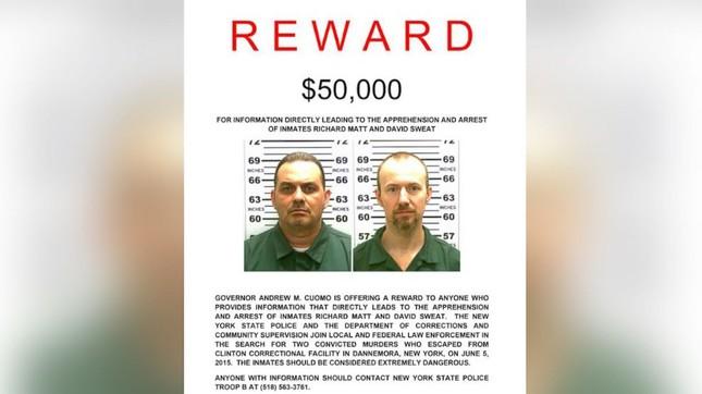 Mỹ treo thưởng 100.000 USD truy bắt 2 sát nhân vượt ngục - anh 2
