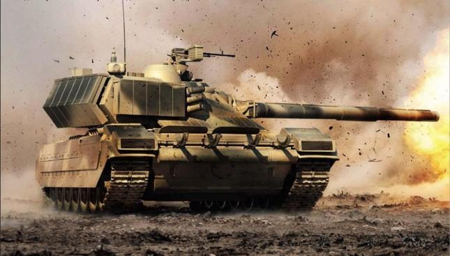 Sức mạnh bí mật của siêu tăng T-14 Armata của Nga - anh 1