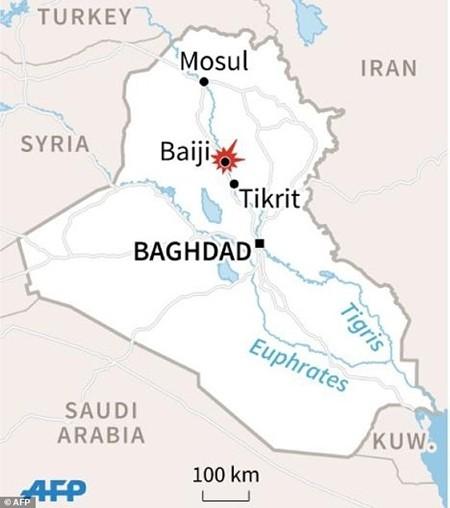 Khủng bố IS bị đánh đuổi không thương tiếc trước quân đội Iraq và Syria - anh 1