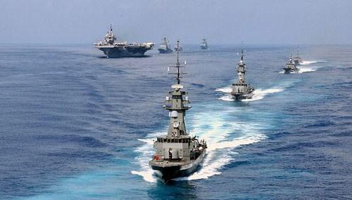 Biển Đông hôm nay 9/6: Các nước thi nhau tập trận tại Biển Đông, Trung Quốc run sợ? - anh 3