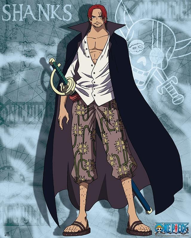 [One Piece] Những hình ảnh đẹp nhất của Shank Tóc Đỏ - anh 4