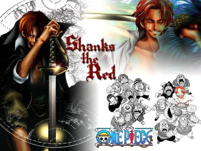 [One Piece] Những hình ảnh đẹp nhất của Shank Tóc Đỏ - anh 1