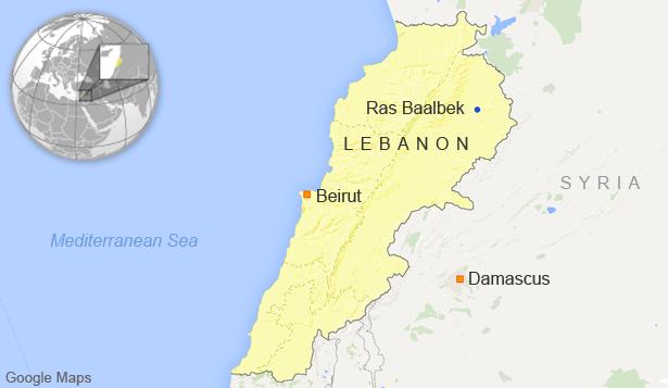 Thủ lĩnh cấp cao IS tan xác vì pháo kích của quân Liban - anh 1