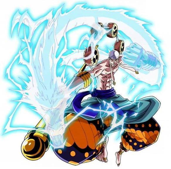 [One Piece] Nhân vật phản diện trong One Piece - Chúa trời Enel - anh 1
