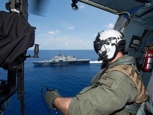 Biển Đông hôm nay 14/6: Mỹ, Úc thay nhau ngăn Trung Quốc 'làm càn' tại Biển Đông - anh 1