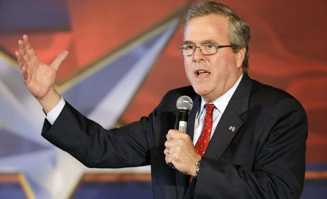 Em trai George Bush tranh cử tổng thống Mỹ - anh 1