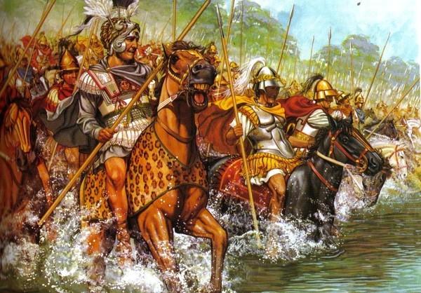Sức mạnh khủng khiếp của kỵ binh Hetairoi Macedonia - Đội quân 'tất thắng' trong lịch sử cổ đại - anh 4