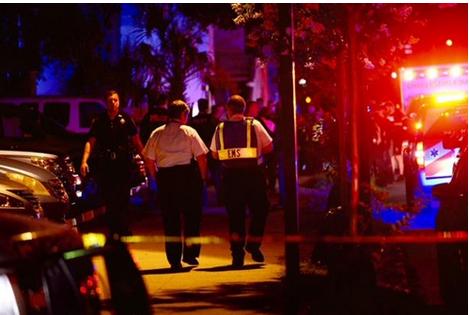 Mỹ: Xả súng điên cuồng tại nhà thờ, 9 người chết - anh 1