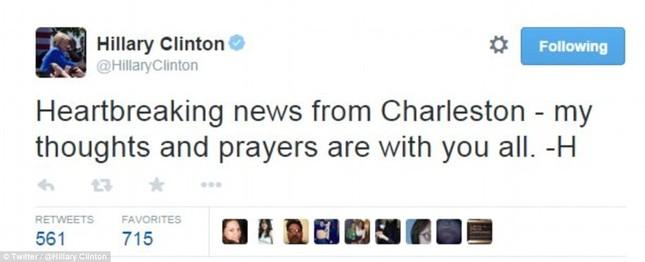 Toàn cảnh vụ xả súng điên cuồng tại nhà thờ Mỹ, 9 người chết - anh 1