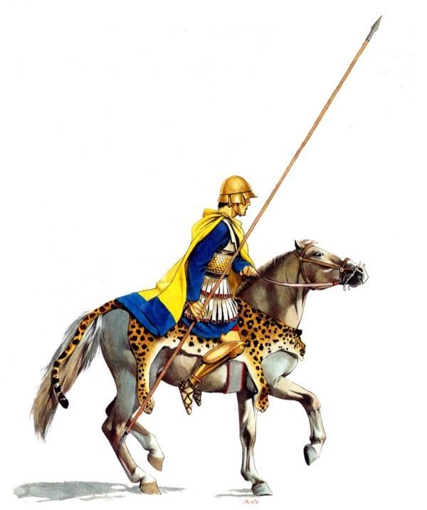 10 đội kỵ binh dũng mãnh nhất lịch sử thế giới - anh 4