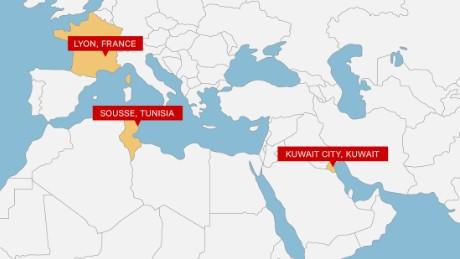 Khủng bố IS gây chấn động 3 châu lục với 'ngày thứ 6 kinh hoàng' - anh 1