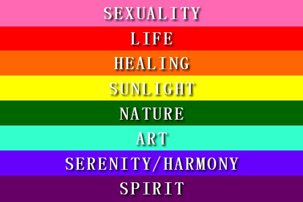 Nguồn gốc và ý nghĩa lá cờ lục sắc LGBT - anh 4