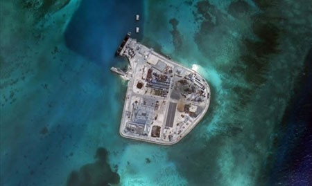 Washington Post đăng ảnh Trung Quốc xây cơ sở quân sự ở Biển Đông - anh 4