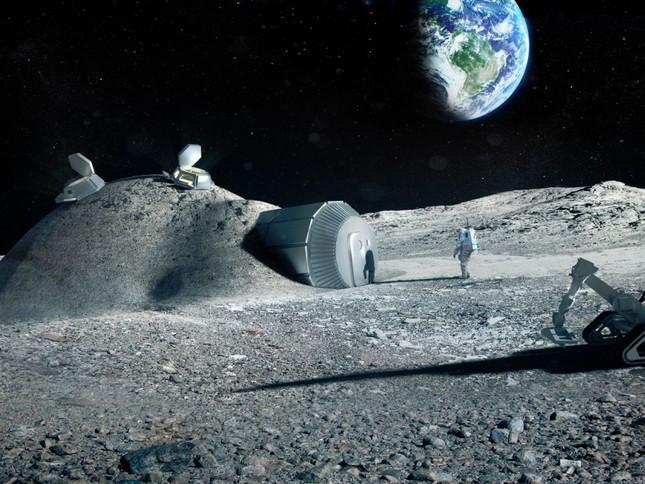 Năm 2040, Nga sẽ chinh phục Mặt trăng hoàn toàn - anh 1
