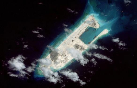 Washington Post đăng ảnh Trung Quốc xây cơ sở quân sự ở Biển Đông - anh 1