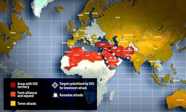 Toàn nước Mỹ cảnh báo nguy cơ: Khủng bố IS tấn công vào Ngày Độc lập 4/7 - anh 4