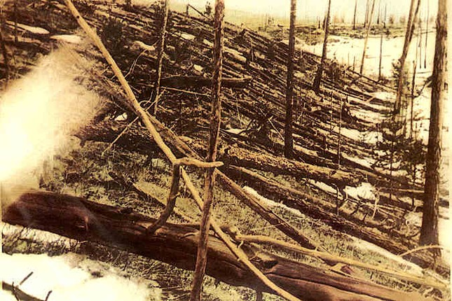 Sự kiện Tunguska: Vụ nổ trên không thách thức khoa học hơn 100 năm - anh 4