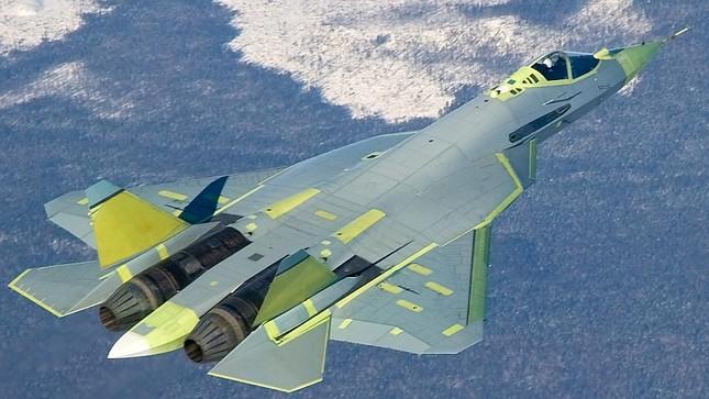 """Khám phá sức mạnh """"đại bàng sắt"""" Su T-50 của Nga - anh 1"""