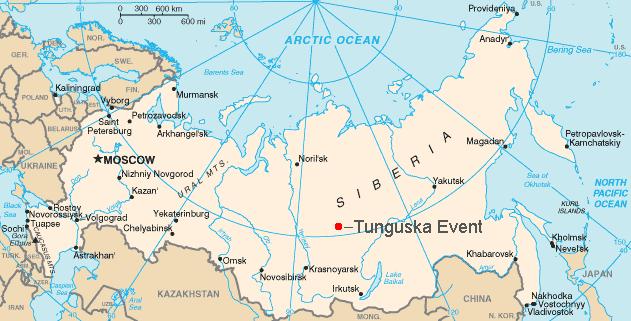 Sự kiện Tunguska: Vụ nổ trên không thách thức khoa học hơn 100 năm - anh 1