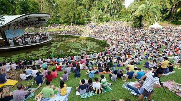 Khám phá vẻ đẹp của Vườn Bách thảo Singapore - Di sản Thế giới mới được UNESCO công nhận - anh 8