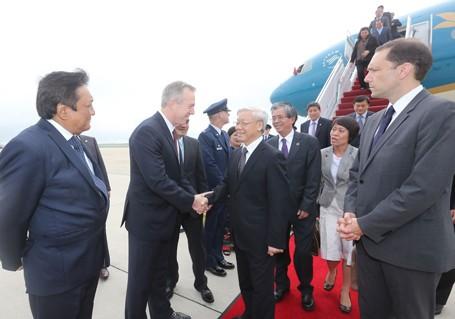 Toàn cảnh Mỹ trải thảm đỏ đón Tổng Bí thư Nguyễn Phú Trọng - anh 3