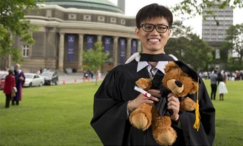 Con đường chinh phục đại học lớn nhất Canada của nam sinh Việt nghèo khó - anh 1