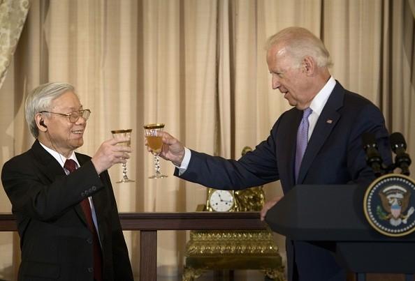 Toàn cảnh cuộc gặp ấn tượng của Tổng Bí thư Nguyễn Phú Trọng và Tổng thống Obama tại Nhà Trắng - anh 8
