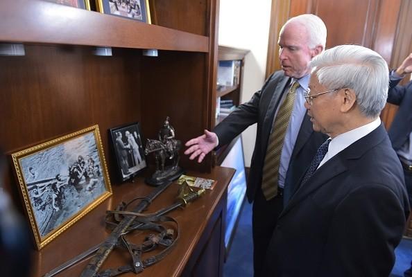 [Toàn cảnh] Ngày làm việc thứ 3 của Tổng Bí thư Nguyễn Phú Trọng tại Mỹ - anh 6
